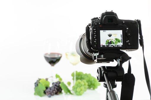 Photo Studio, Slr, Photo, Camera, Lens, Photographer