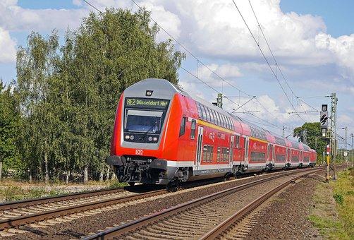 Regional-express, Doppelstockzug, Deutsche Bahn