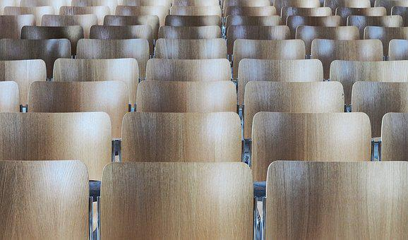 Chair, Rows, Seat, Seating, Indoor, Audience, Church