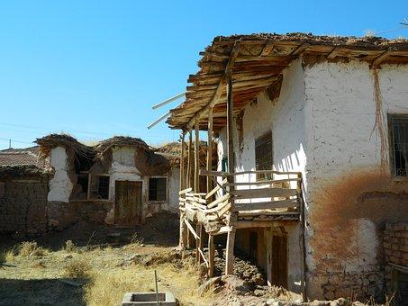 Village, Abandoned, Empty Houses