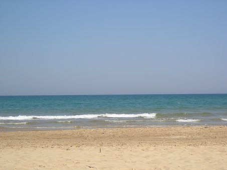 View, Spain, Sea, Beach, Empty, No People, Still