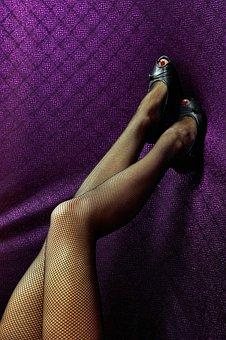 Legs, Stockings, Sexy, Female, Body, Woman, Model, Girl