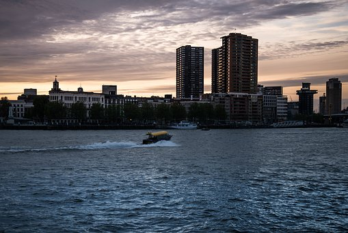 Rotterdam, Cityscape, Skyline, Urban, Harbor