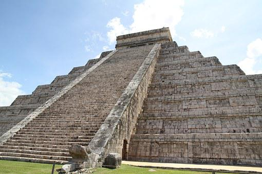 Pyramid, Mexico, The Ruins Of The, Chichen Itza