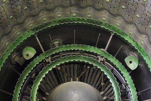 Germany, Koblenz, Military, Museum, Turbine, Engine