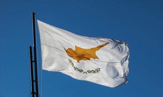 Cyprus, Flag, Waving, Independence Day, 1st April