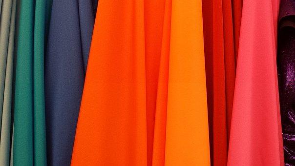 Colorful, Colors, Fabrics, Design, Pattern, Texture