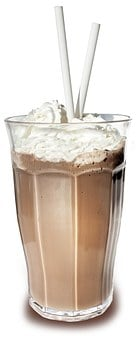 Milkshake, Milk, Dairy, Drink, Glass, Cream, Straw