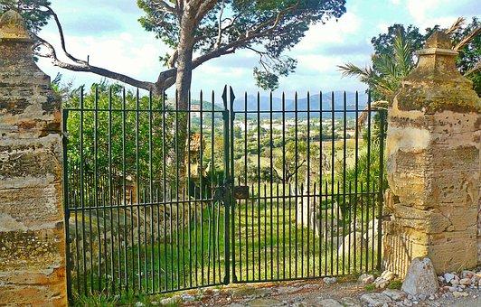 Mallorca, Finca, Holiday, Fence, Wall, Masonry, Home