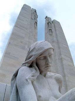 Vim Ridge, Memorial, France, Ww1, World War