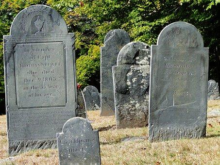 Cemetery, Headstones, Graveyard, Graves, Tombstone, Old