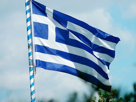 Flag, Greece, Greek, Europe, Blue, Greeks, Grexit