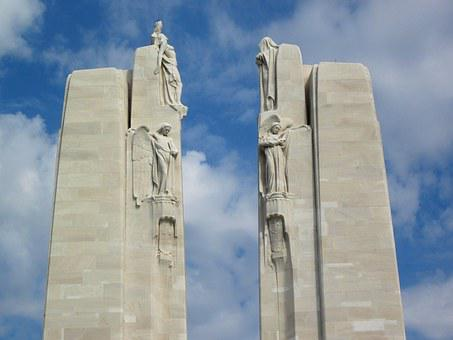 Vimy Monument, Pylons, Chorus, Vimy Ridge, France