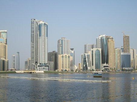 United Arab Emirates, Sharjah Downtown, Waterfront