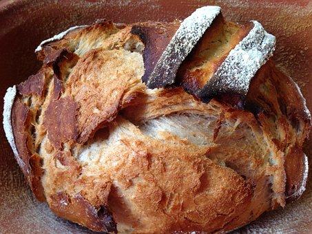 Bread, Crispy, Homemade, Bake, Baked, Pastries, Eat