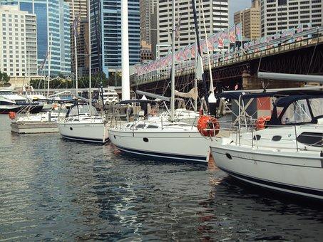 Sydney, Darling Harbour, Darling, Australia, Harbour