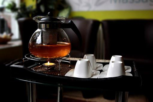 Tee, Peppermint Tea, Drink, T, Jasmin, Teapot, Teacup