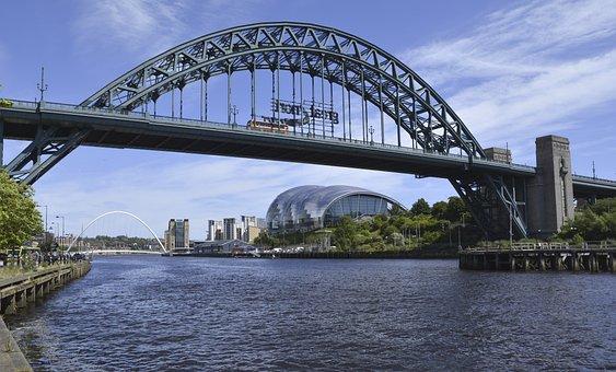 Tyne Bridges, Newcastle, North, East, Landmark