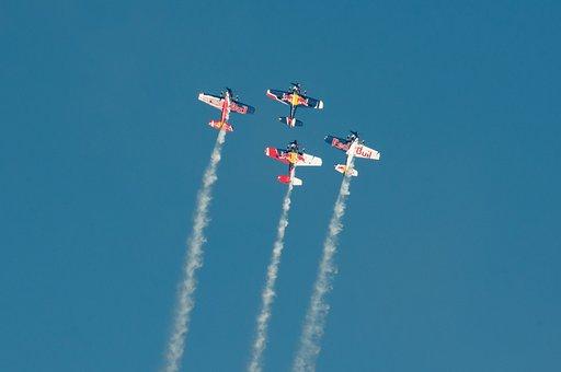 Flugshow, Aircraft, Air Race, Event, Aerobatics, Sky