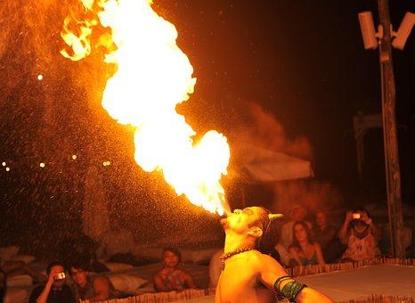 Firedancer, Flame, Hot, Burn, Heat, Danger, Fiery