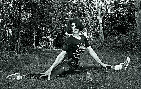 Yoga, Yoga Pose, Exercise, Forward Split, Flexibility