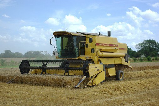 Combine, Harvester, Farming, Harvest, Farm, Field
