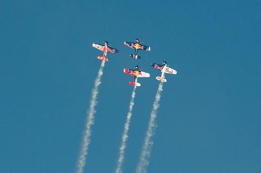 Flugshow, Aircraft, Air Race, Event, Aerobatics, Sky