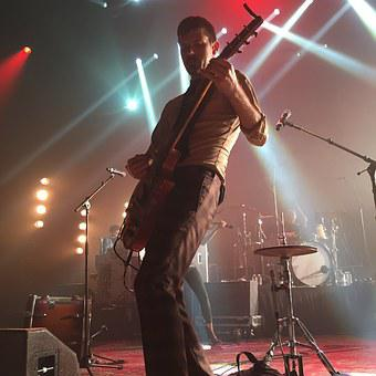 Avett, Seth, Concert, Guitarist, Solo, Concert Stage