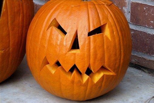 Halloween, Pumpkin, Scary, October, Spooky, Orange