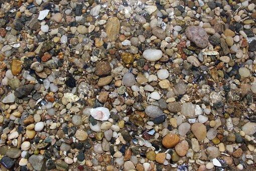 Pebbles, Rocks, Water, Ocean, Nature, Stone, Landscape