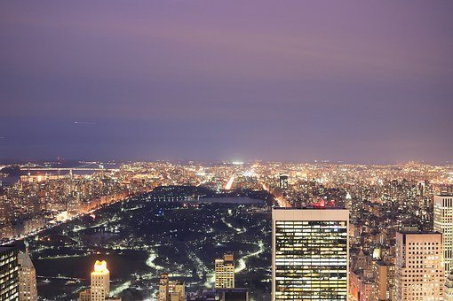 Central Park, New York, Skyline, Nyc, New York City, Ny