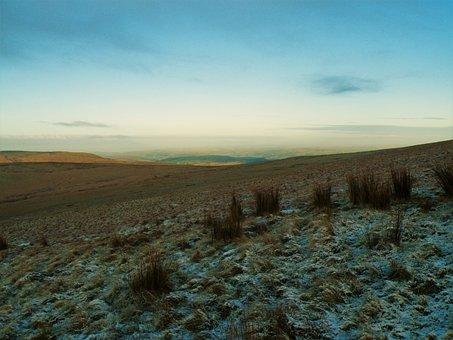 Wales, Pen-y-fan, Sunrise, Nature, Mountains