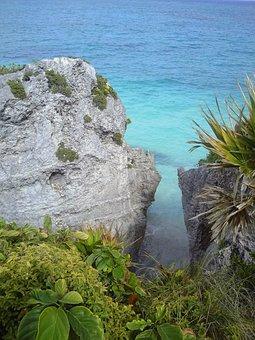 Tulum, Sea, Water, Quintanaroo, Landscapes, Nature