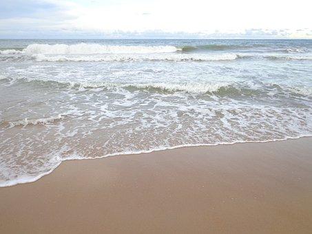 Beach, Summer, Sol, Mar, Holidays, Beira Mar, Sand