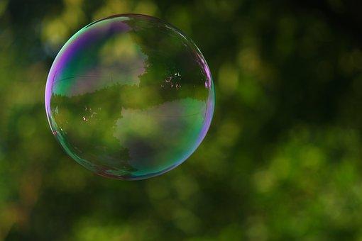 Bubble, Park, Soap, Nature, Childhood, Grass, Green