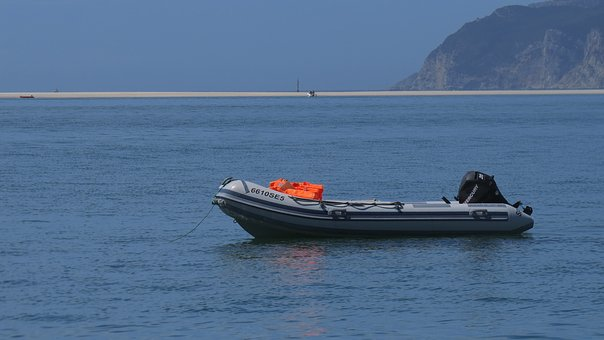 Boat, Beach, Sand, Mar, Rocks, Nature, Landscape, Salt