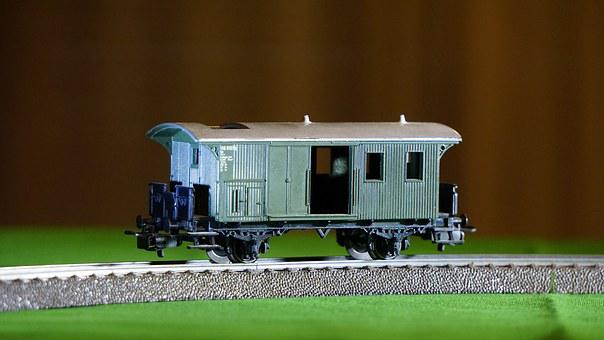 Wagon, Train, Goods, Railways, Trains, Via, Transport