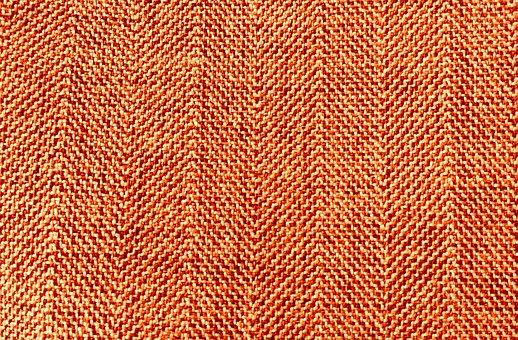 Fabric, Texture, Structure, Textile, Orange, Tweed