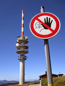 Transmission Tower, Prohibitory, Danger, Prohibited