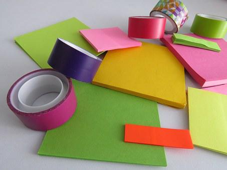 Diy, Tape, Crafts, Father, Colorful, Reaft, Handmade
