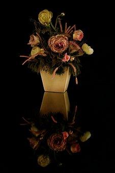 Rose, Vase, Flower, Amphora, Rosa, Color, Red, Vases