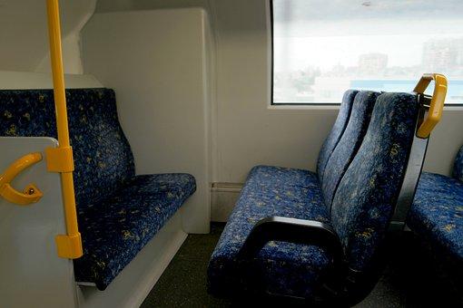 Train, Seats, Transportation, Public, Empty, Chair