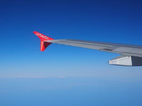 Aircraft, Wing, Aircraft Wing, Fly, Holiday, Travel