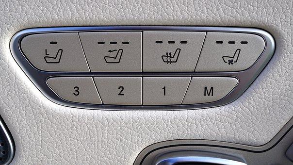 Mercedes, Car, Interior, Design, Luxury, Vehicle