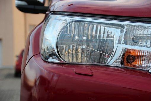 Spotlight, Auto, Pickup, Toyota, Body, Vehicle, Car