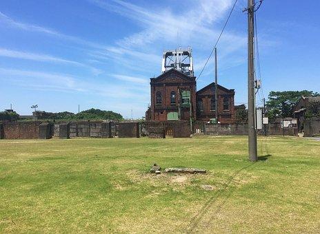 World Heritage Site, Coal Mine, Blue Sky, Cloud