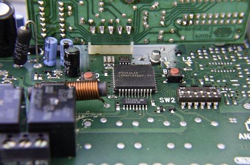 Printed Circuit Board, Electronics, Circuits, Board