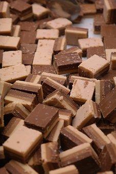 Layer Nougat, Nougat, Nougat Corners, Chocolate