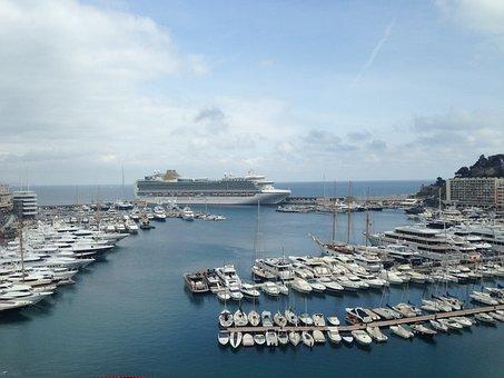 Monaco, France, Mediterranean, Boat, Marina