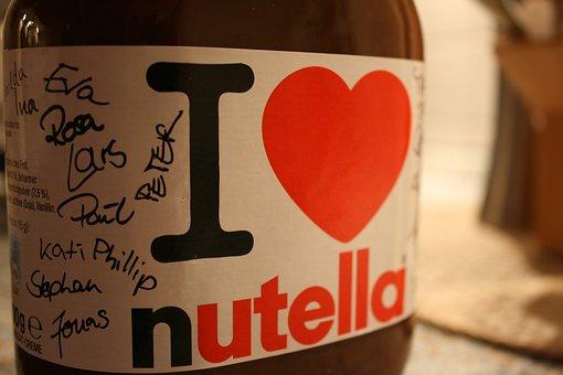 Nutella, Chocolate, Breakfast, Food, Nibble, Sweet
